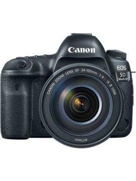 Canon EOS 5D Mark IV DSLR Camera with EF 24-105mm f/4L IS II USM Lens